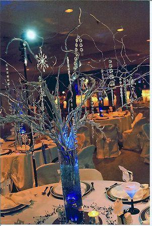 diy wedding challenge 2010 manzanita curly willow centerpieces rh pinterest com