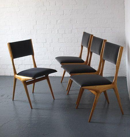 1950s Italian Chairs By Carlo Di Carli Modern Room 20th Century Design Scandinavian Furniture Design Furniture Chair Interior