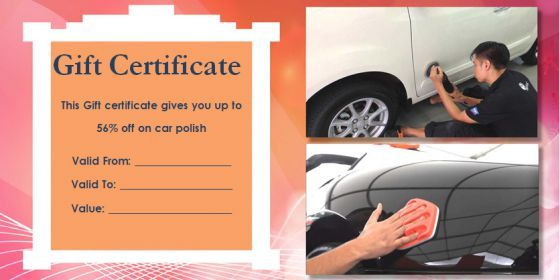 find a perfect and professional set of auto detailing gift certificate templates for free have a look and create your own awesome auto detailing gift