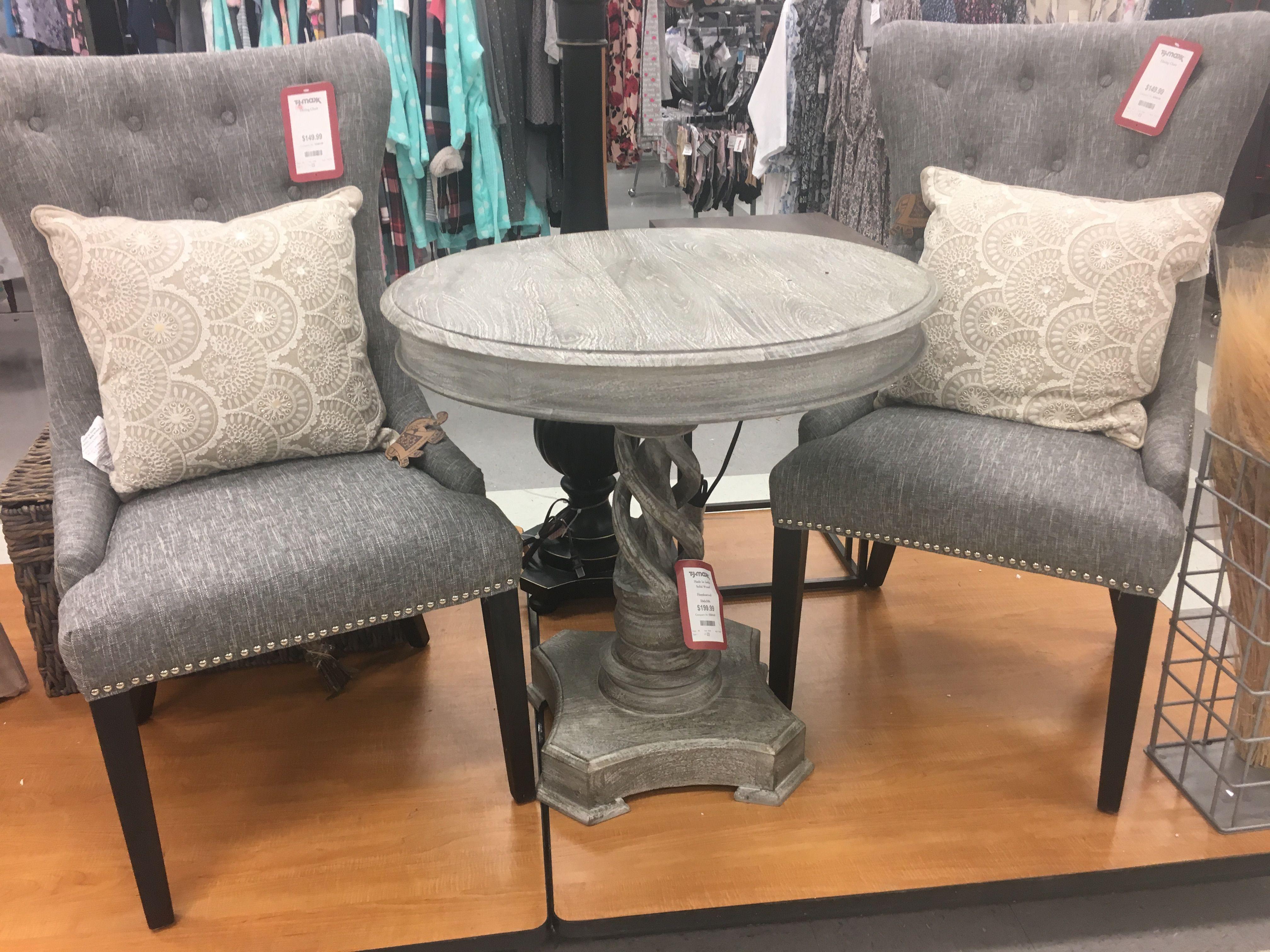 Einfache Dekoration Und Mobel Alte Stuehle Mit Hussen Aufhuebschen #25: Table And 2 Chairs - TJ Maxx