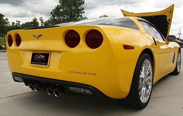 C6 Corvette American Car Craft Tail Blackout