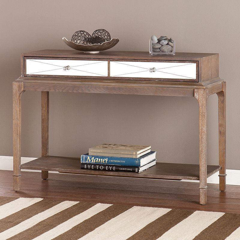Avalon Sofa Table, Brown
