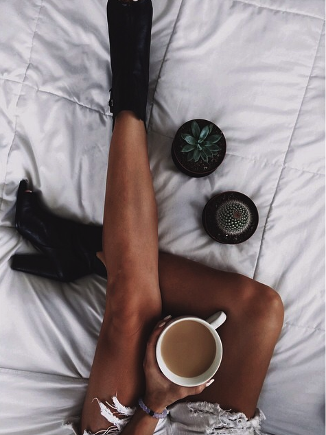 How every morning should begin- Coffee and a lokai!