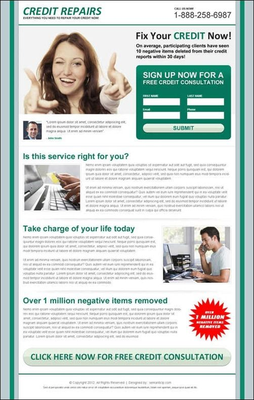 Credit Repair Flyer Templates SECRETS Exposed Here