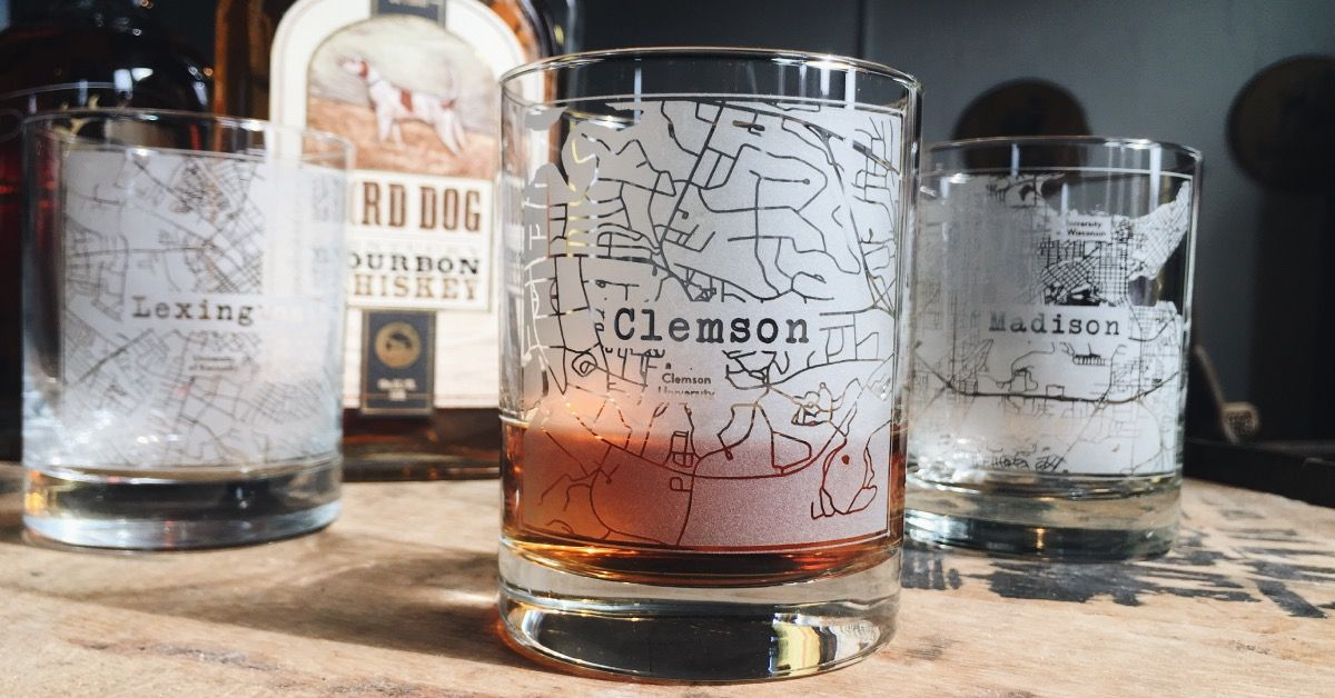 Glass Celebrate your favorite college town with