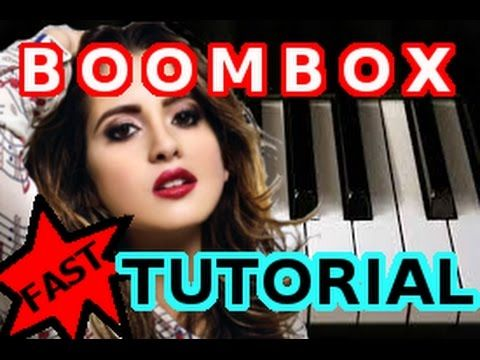 Laura Marano Boombox Piano Tutorial Video With Chords Learn