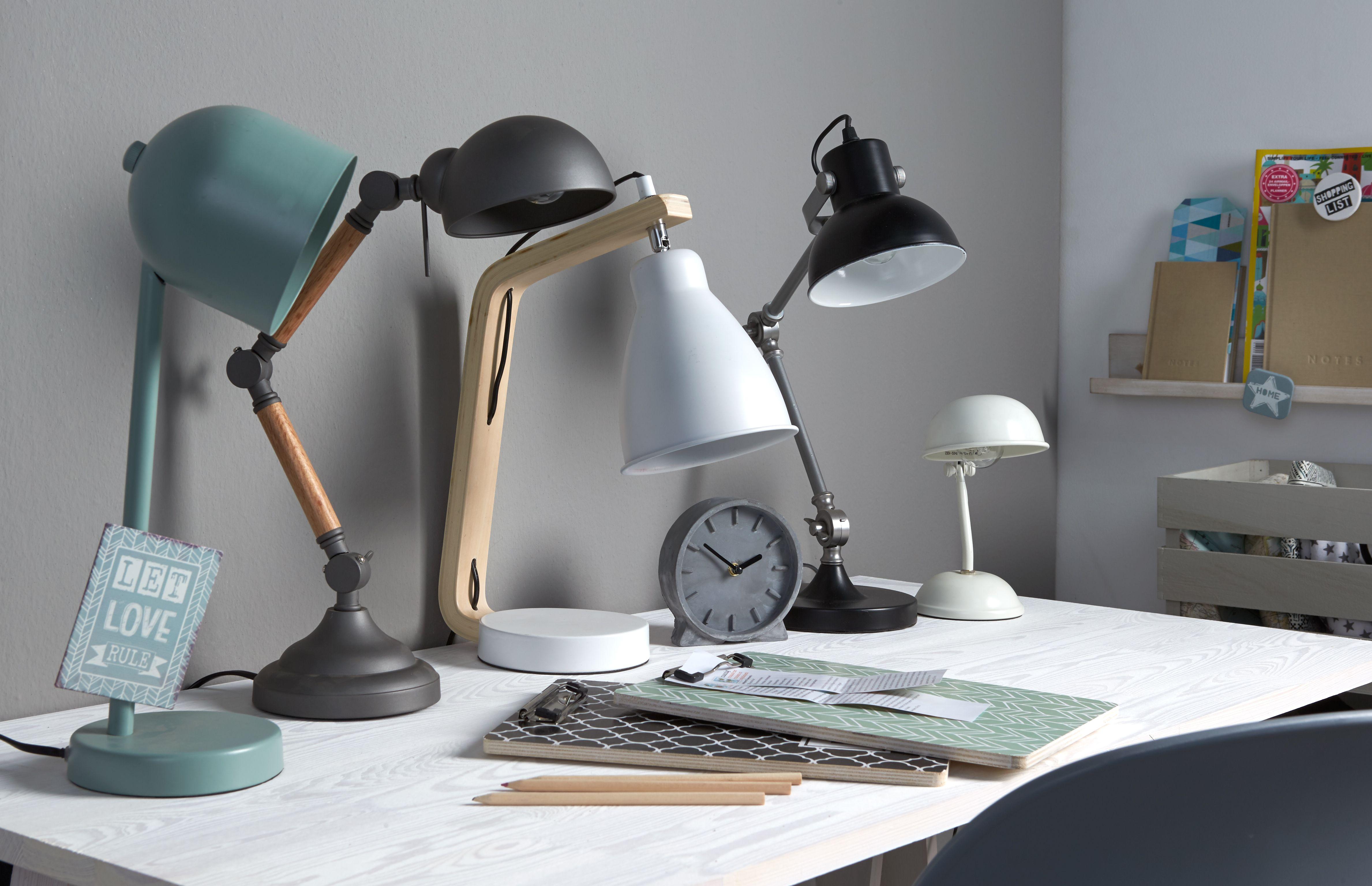 Een goede lamp op je bureau is belangrijk deze maken het werken