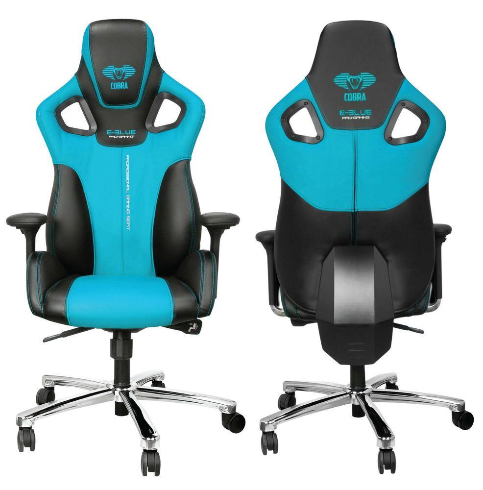 e-blue cobra high back racing pc gaming chair bucket computer
