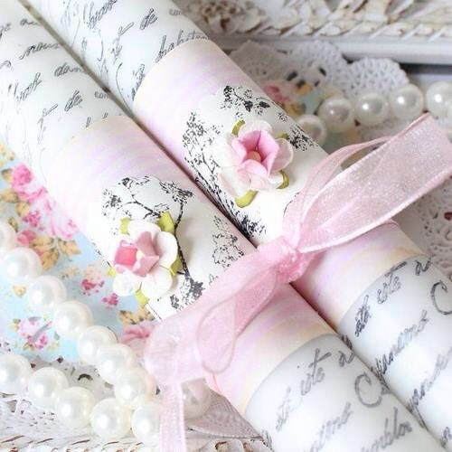 shabby wrapping