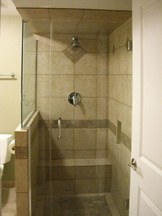 Small shower design pictures remodel decor and ideas for Small bathroom designs shower stall