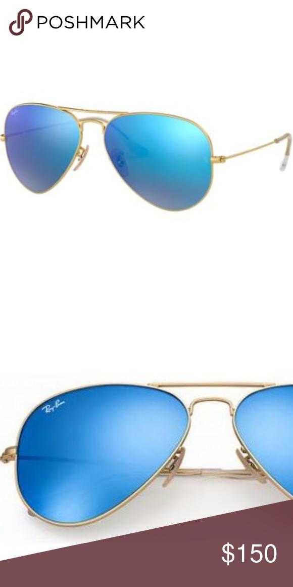 f3dcb4ab9dbf7 Ray-Ban Aviator Unisex RB 3025 55mm Sunglasses 100% Authentic Ray-Ban  Aviators