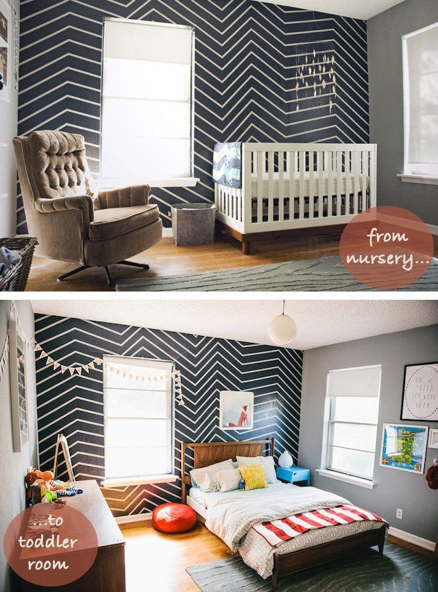 axel s room subtle affordable changes to grow up a nursery rh pinterest com