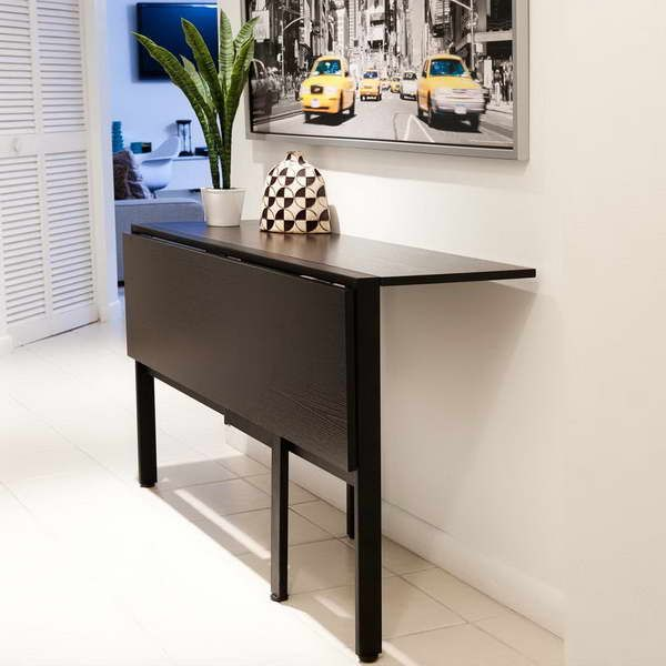 Folding Kitchen Tables Leaking Kohler Faucet Fold Down Table For Tiny 18 Photos Of The Ikea Right Choice Your Room