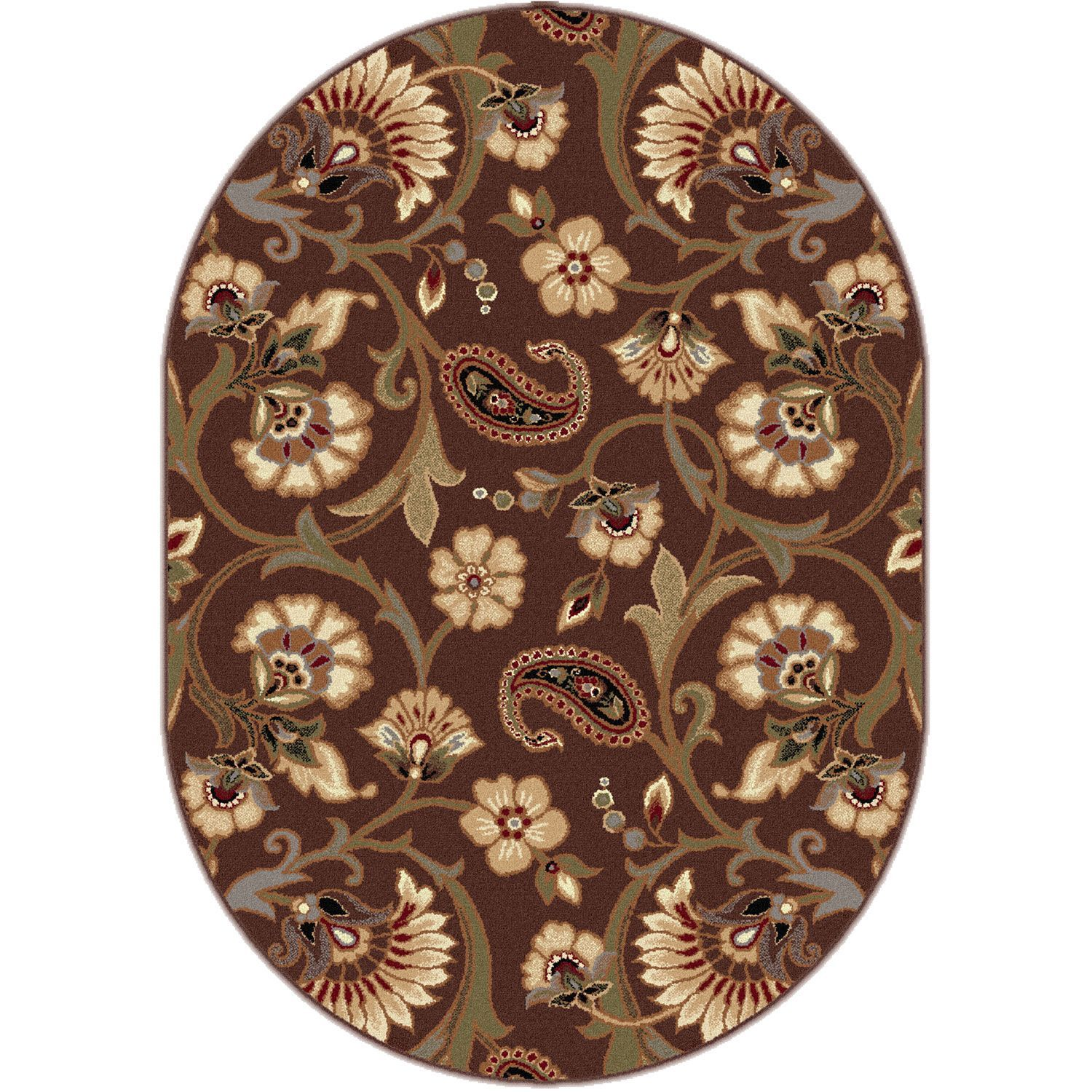 Ikin Jewel Tone Firenze Rug Area Rugs