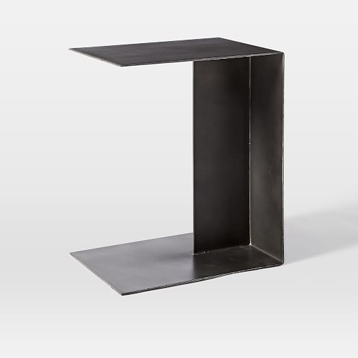 Hayes C-Shaped Side Table | west elm