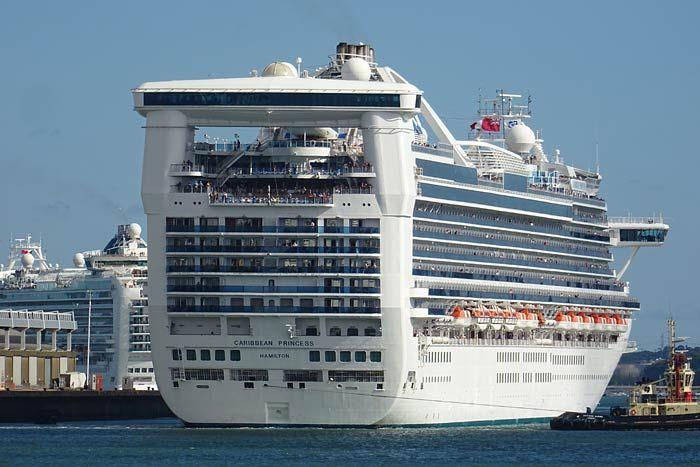 Explore The Beauty Of Caribbean: Caribbean Princess Cruise Ship Photos