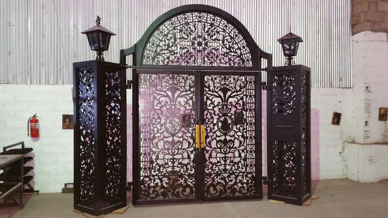 Monster gate, made in ghana, kumasi.