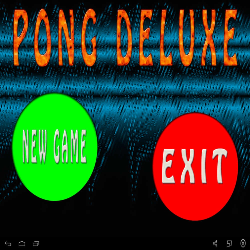 Pong Deluxe Es Un Juego Muy Adictivo Y Entretenido Preparate Para