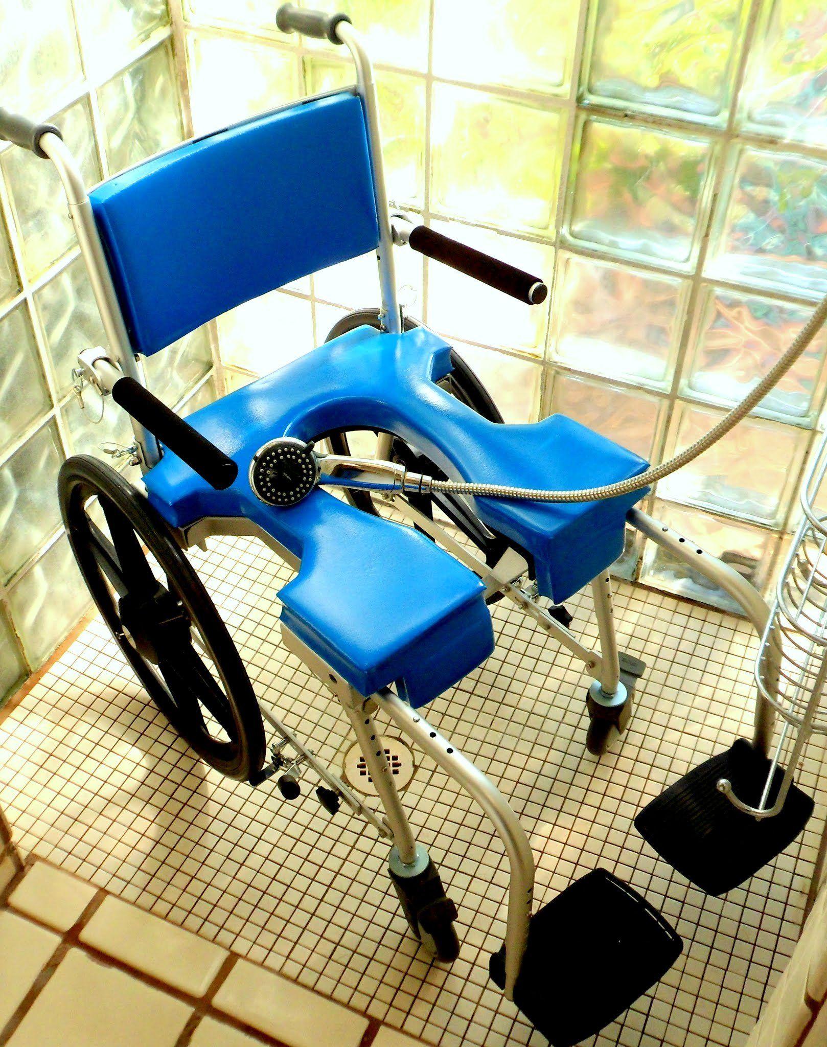 Goanywhere commode 'n shower chair selfpropel (sp