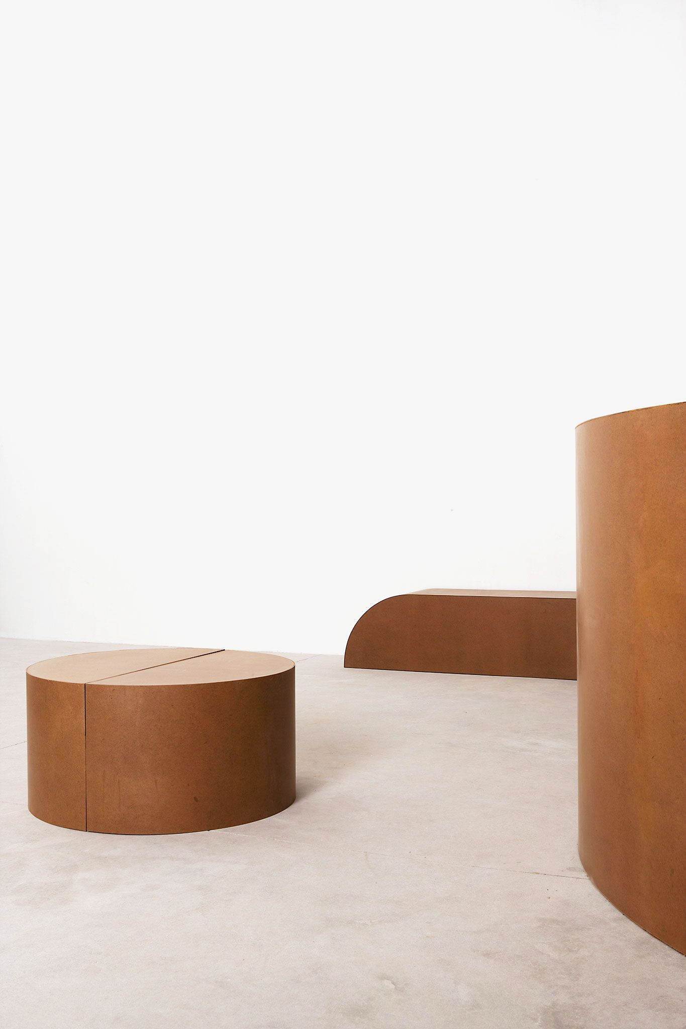 Furniture by RO/LU designers at Patrick Parrish gallery. New York