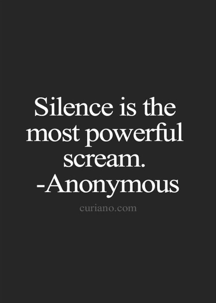 Quotes Of The Day 12 Pics Life Quotes Silence Quotes Words Quotes