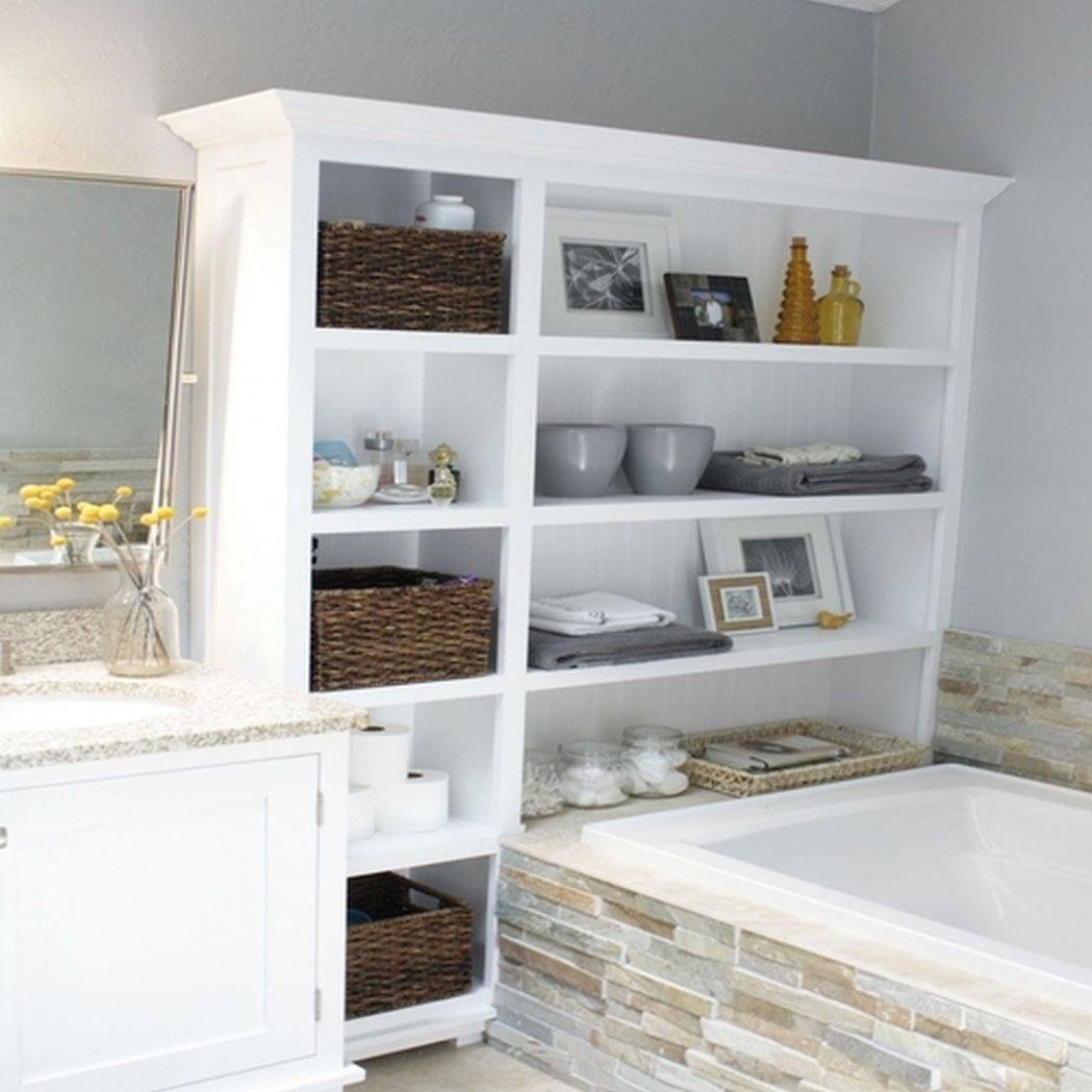 10 Coolest Bathroom Storage Ideas for an