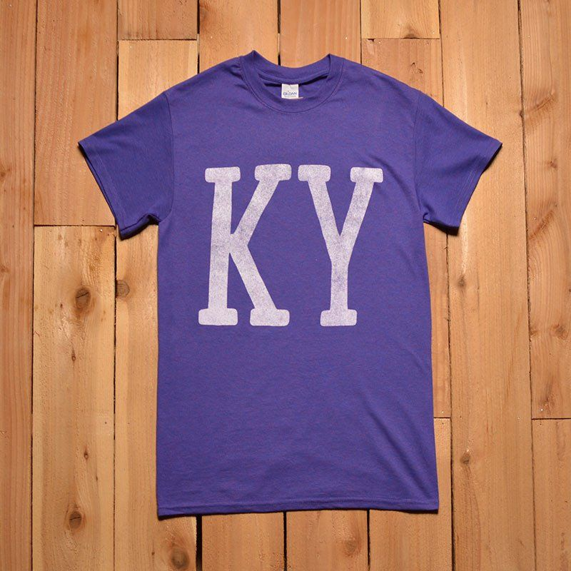 Kentucky Freeway Map%0A Commonwealth Provisions tshirt CP Women u    s KY Lilac