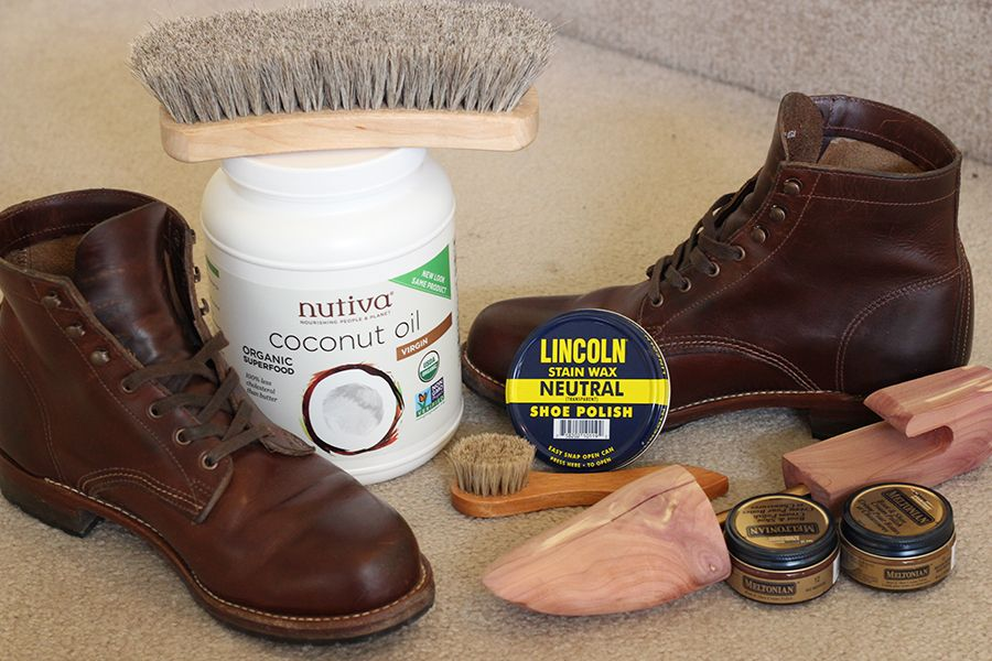 Wolverine 1000 Mile Leather Care Leather, Leather boots