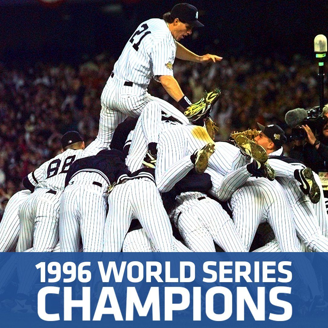 A Yankees Dynasty Was Born 20 Years Ago Today Yankees World Series New York Yankees Ny Yankees