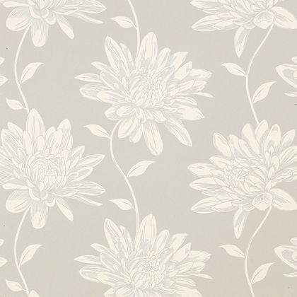 Laura Ashley Josephine Dove Grey Wallpaper Homebase Grey Wallpaper Wallpaper Wallpaper Living Room