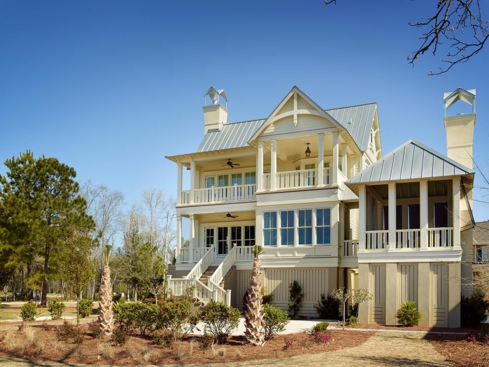 charleston home design%0A Coastal Cottage in Charleston  S C  With classic cottagestyle elements and  definite coastal flair