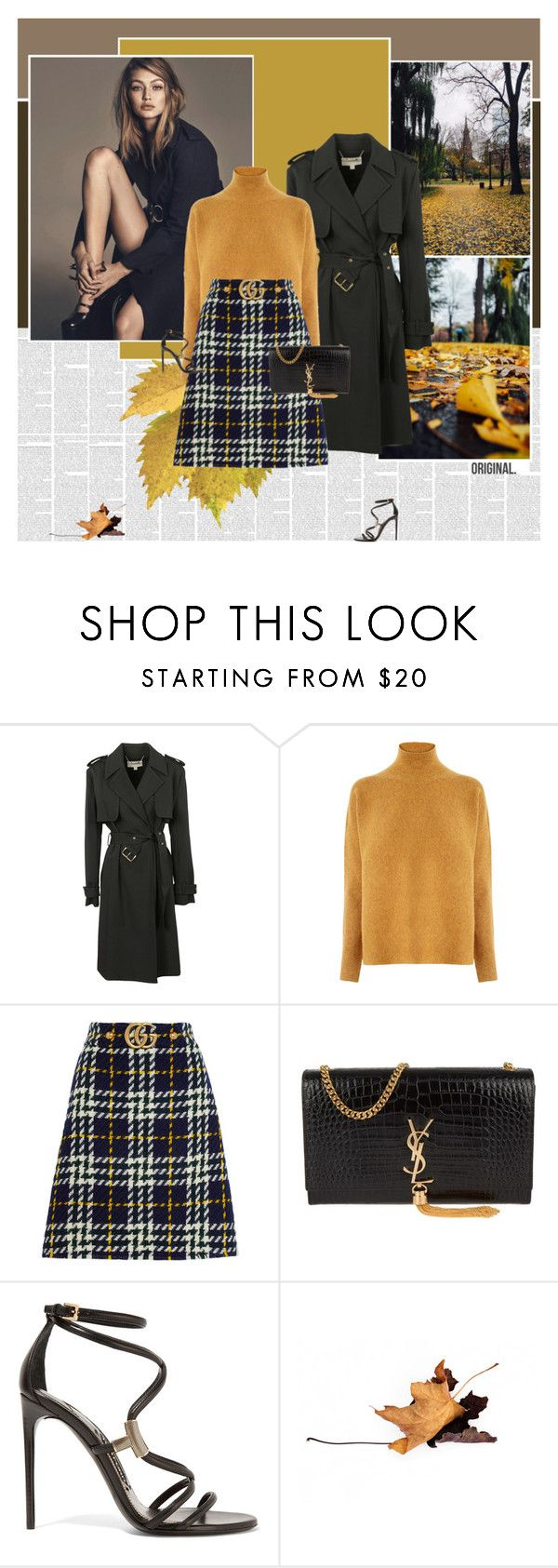 """Autumn in Boston"" by stephaniee90 ❤ liked on Polyvore featuring Michael Kors, Warehouse, Gucci, Yves Saint Laurent and Tom Ford"