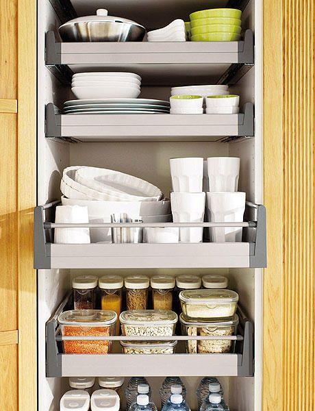 cómo distribuir cajones y armarios cocina - Buscar con Google ...