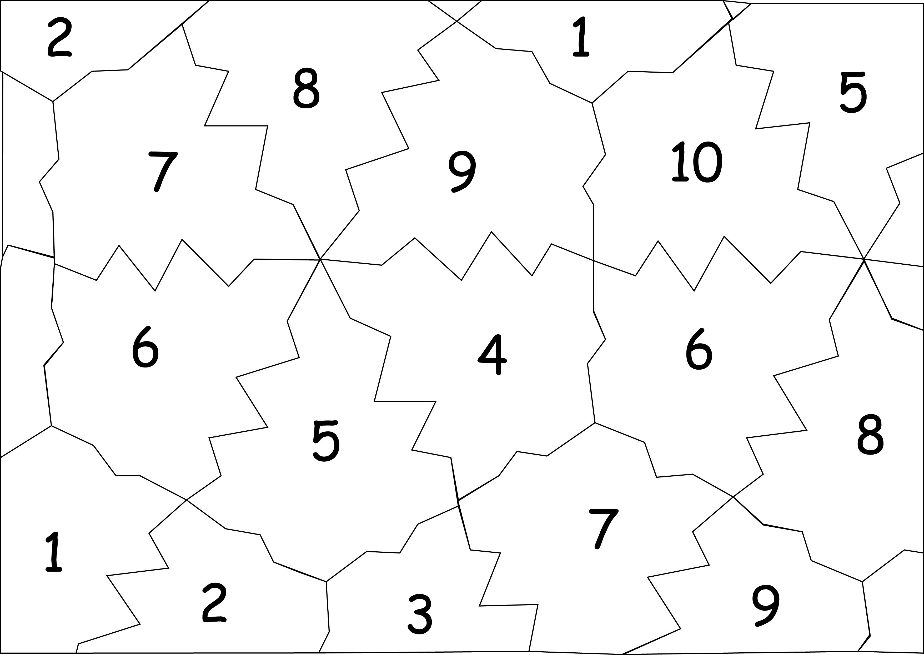Tessellating Leaf Shapes For Rolling Dice To Generate