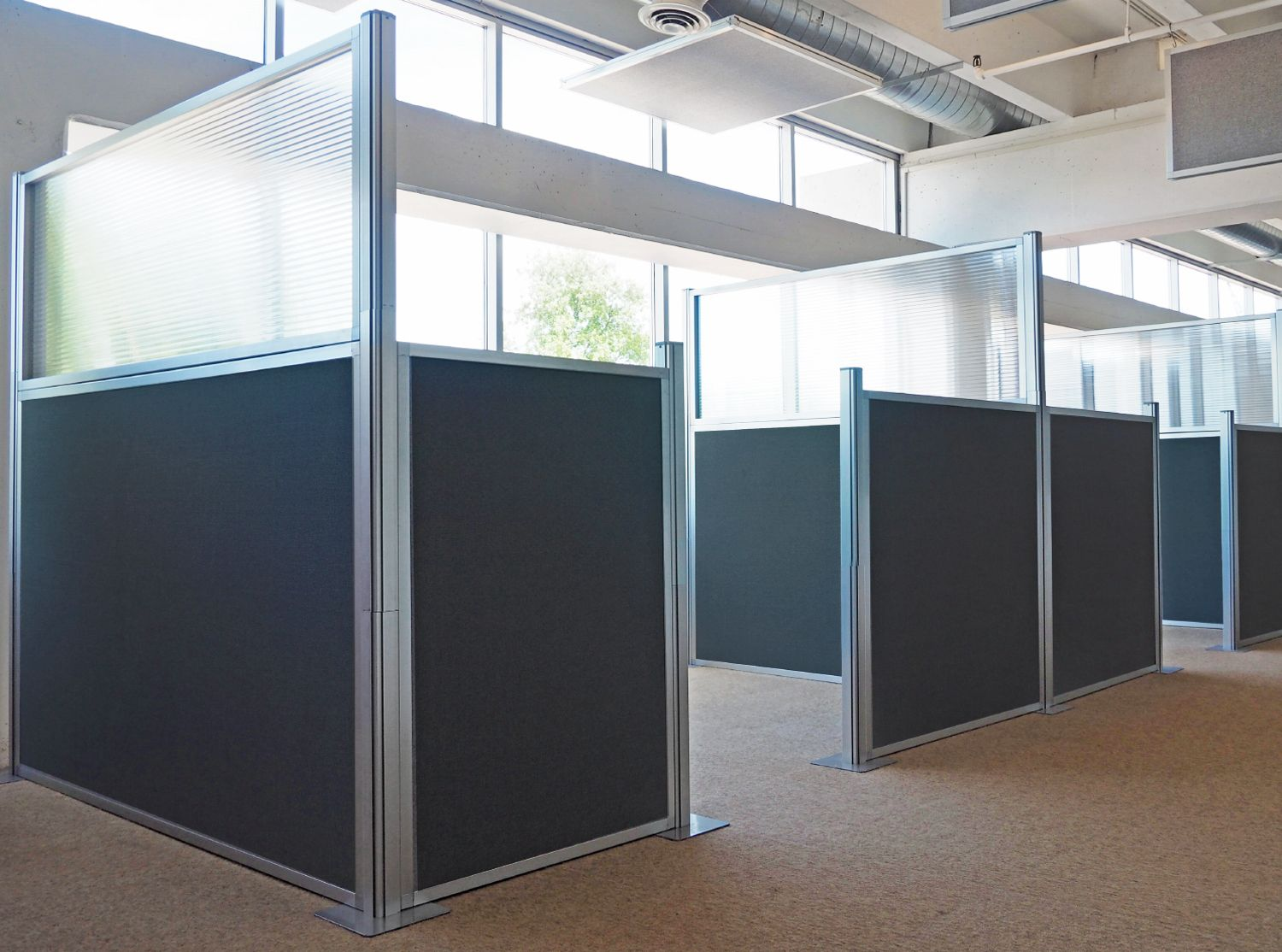 Hush Panel Configurable Cubicle Partition Office Dividers