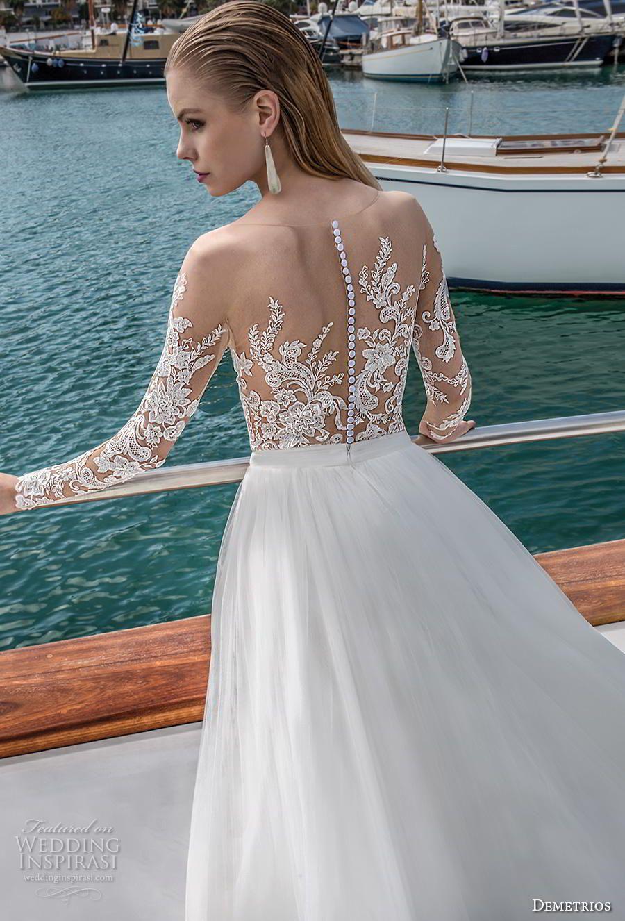 Destination romance by demetrios wedding dresses wedding