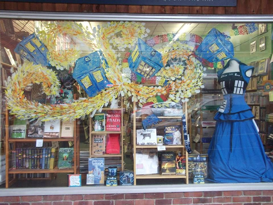 Doctor Who / Tardis Bookstore Window Display. Maybe Pair This With The  Part 69