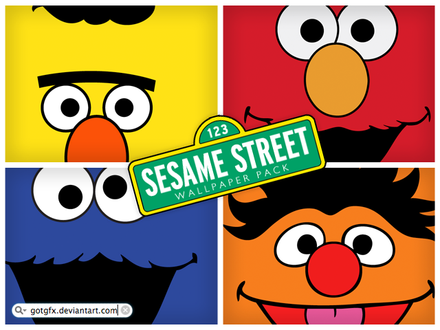 Sesame Street Wallpaper Pack