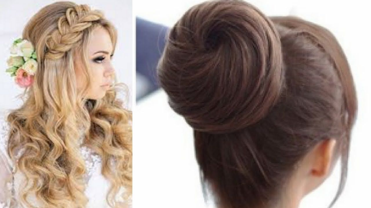 13 Easy Hair Style For Long Hair Puff Hair Style Ladies Hair Style Easy Hairstyles Ladies Hair Style Video Hair Puff