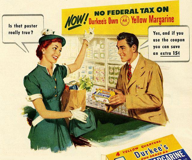 1950s Margarine Ad