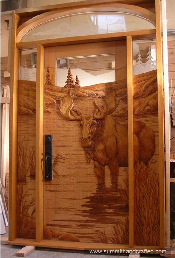Hand carved entry door awesome doors pinterest