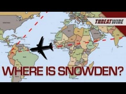 YouTube - Where in the World is Snowden?