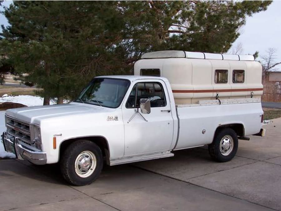 The Teal is also designed for pickup campers