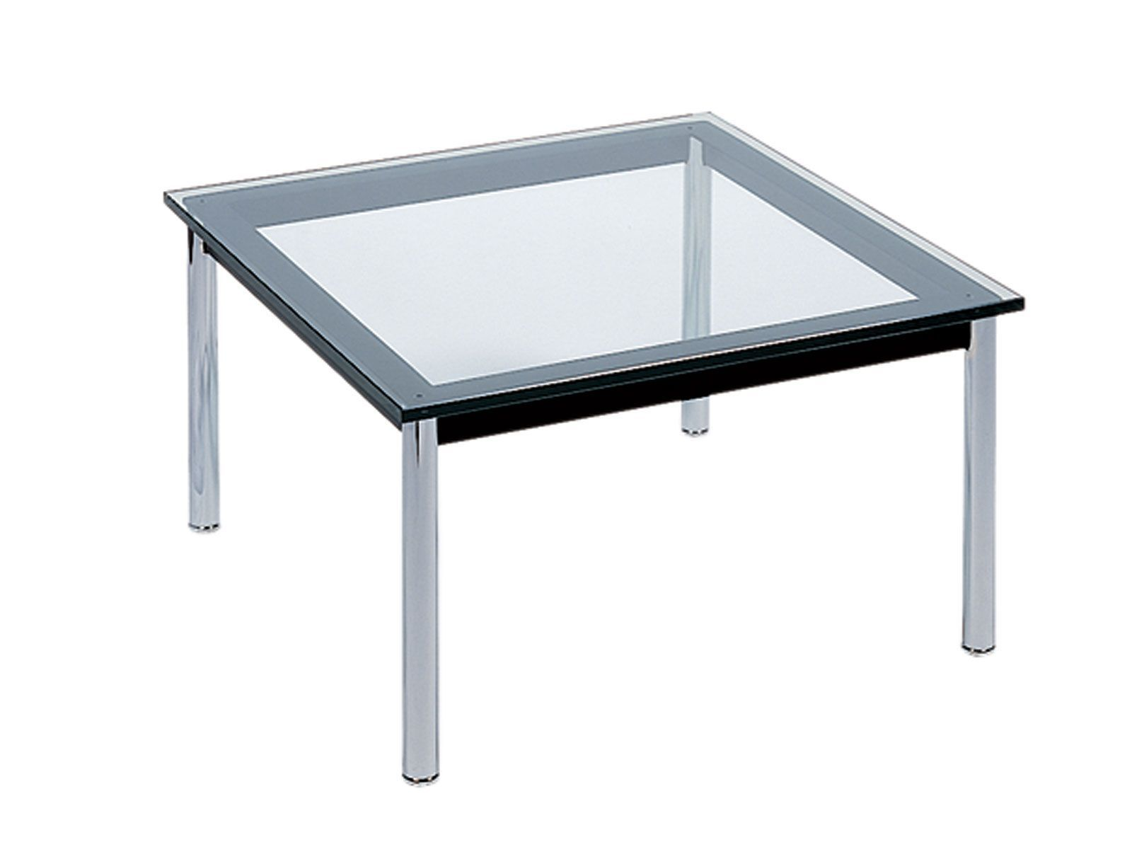 Le Corbusier Square Glass Top Coffee Table Glass Top Coffee