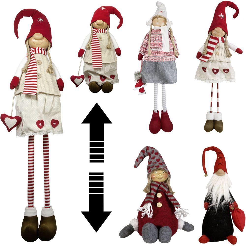 Weihnachts Wichtel Und Gnome Weihnachtswichtel Deko Figur Zwerg  Weihnachtsmann