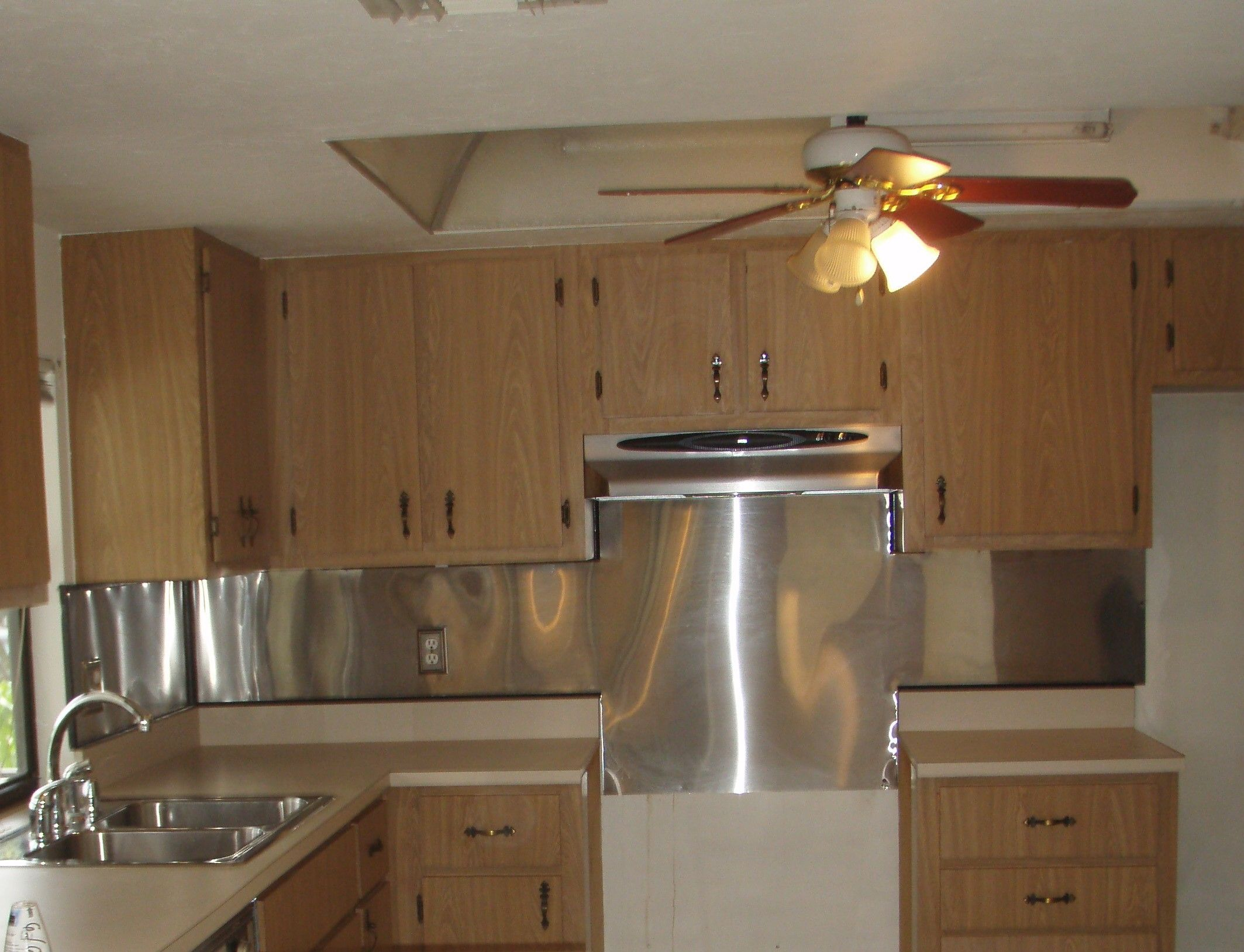 Update Recessed Fluorescent Kitchen Lighting Http - Update kitchen lighting
