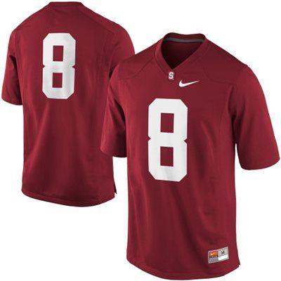 Nike Stanford Cardinal 8 Game Football Jersey Cardinal Football Jerseys Stanford Cardinal Jersey