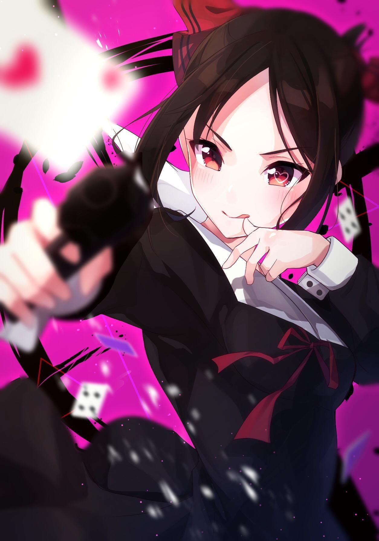 Shinomiya Kaguya (Kaguyasama Love is War) Menina anime