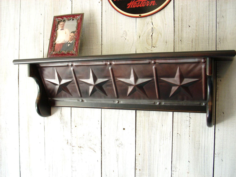 Western Furniture Shelves Star Picture Shelf | Muebles occidentales ...