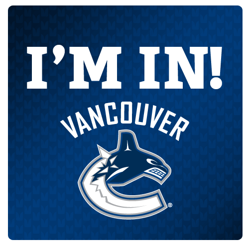 The Vancouver Canucks are in! #Seahawks